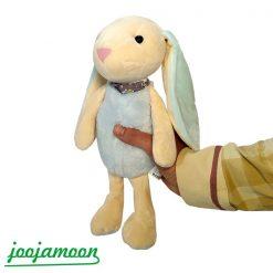 عروسک خرگوش جلی کت scaxf