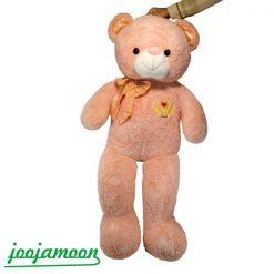 عروسک خرس پاپیون لمه
