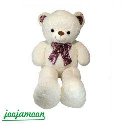 عروسک خرس پاپیون پولکی