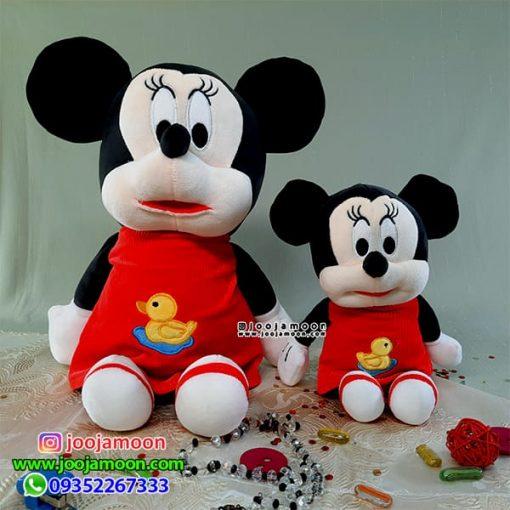 عروسک میکی موس و مینی موس لباس کبریتی