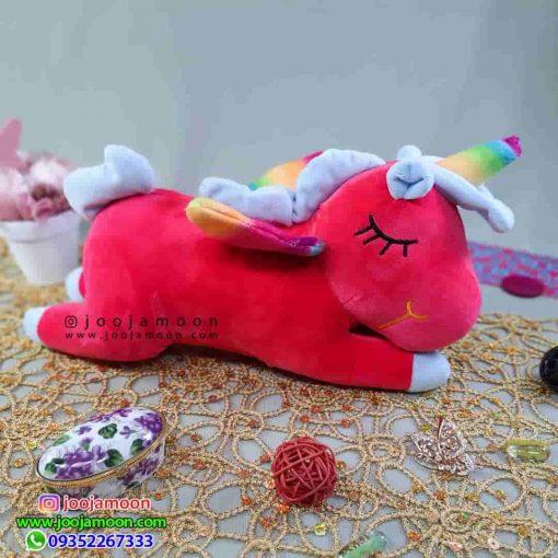 عروسک اسب تک شاخ خوابیده