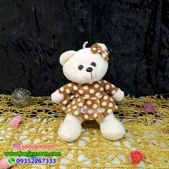 عروسک خرس کوچولو پاپیون دار