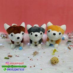 عروسک سگ های زنگوله دار