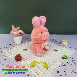عروسک بچه خرگوش پاپیون دار