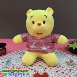 عروسک خرس پو لباس دار