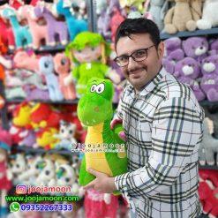 عروسک دایناسور رنگی 50 سانت