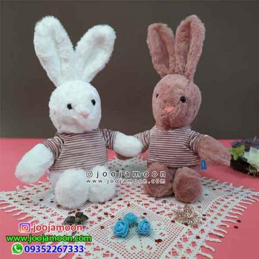 عروسک خرگوش تیشرت دار