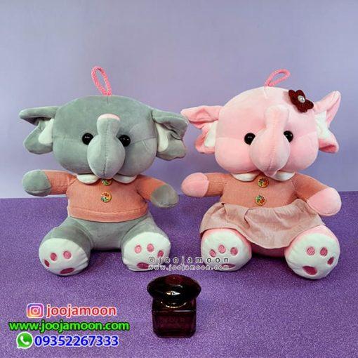 عروسک فیل دختر و پسر 30 سانت