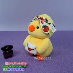 عروسک جوجه اردک هدبنددار
